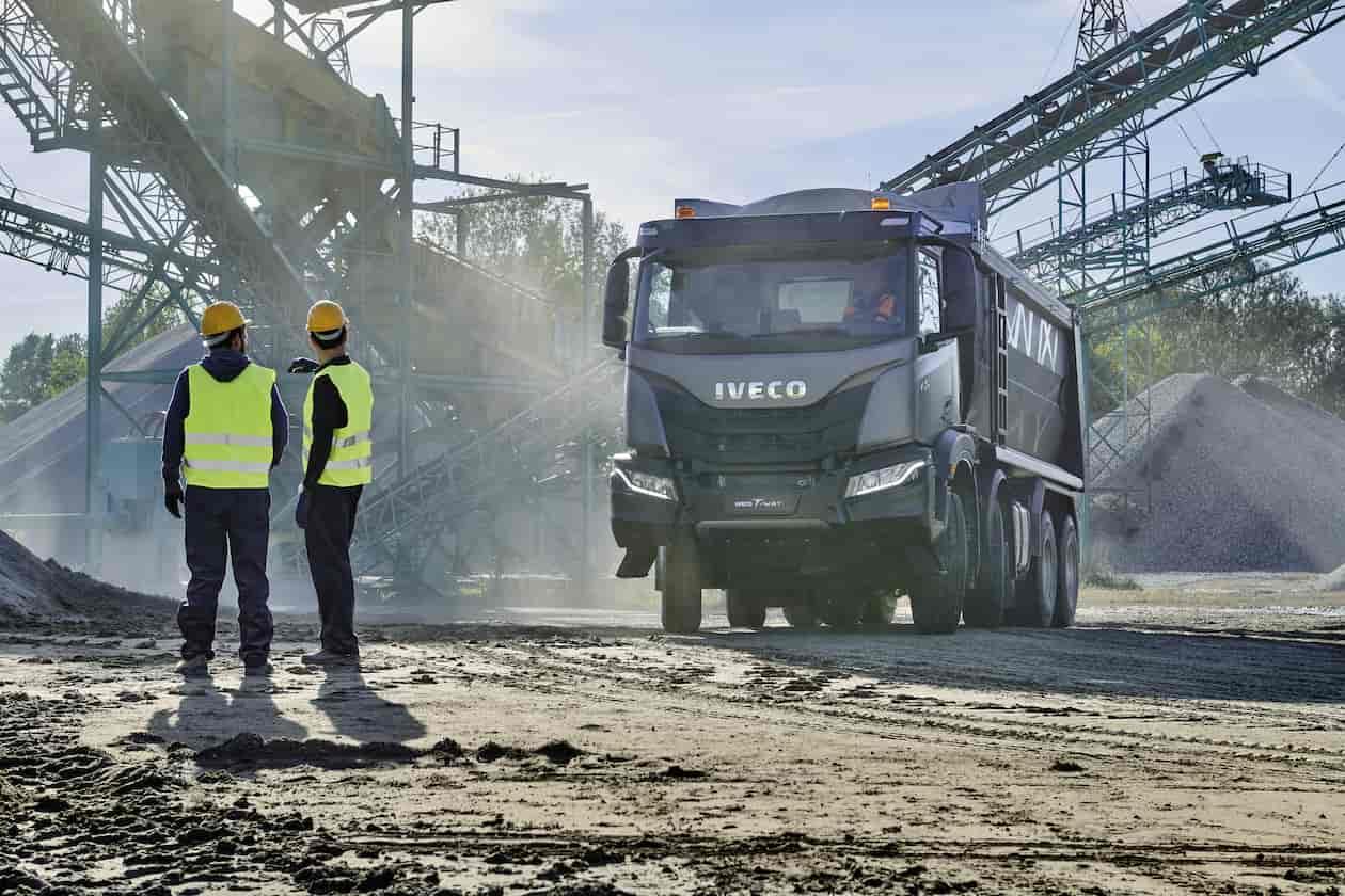 Heavy goods vehicles
