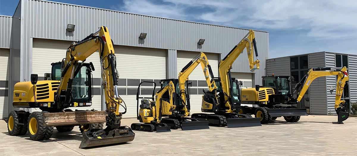Rental company of construction equipment