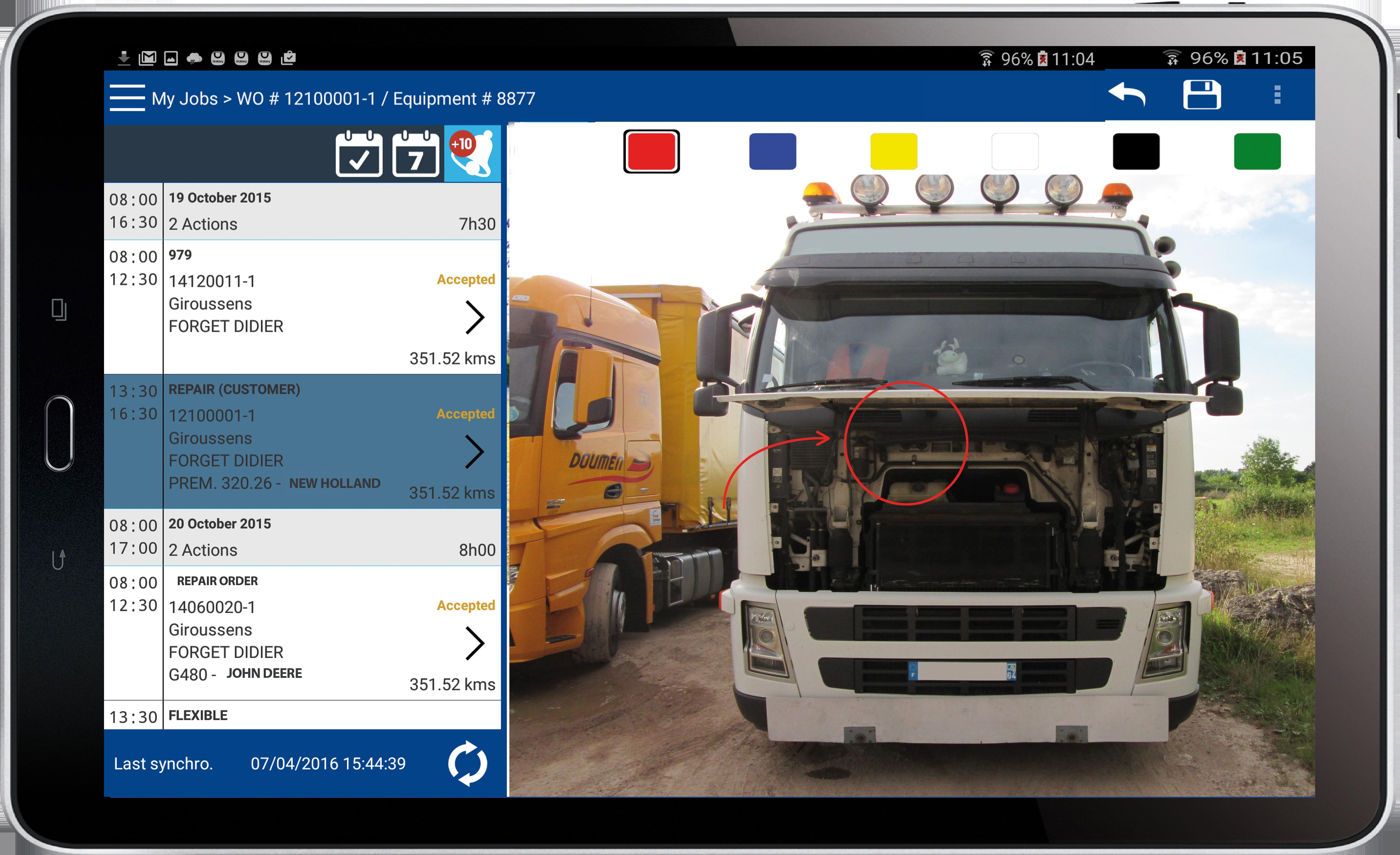 Software for trucks